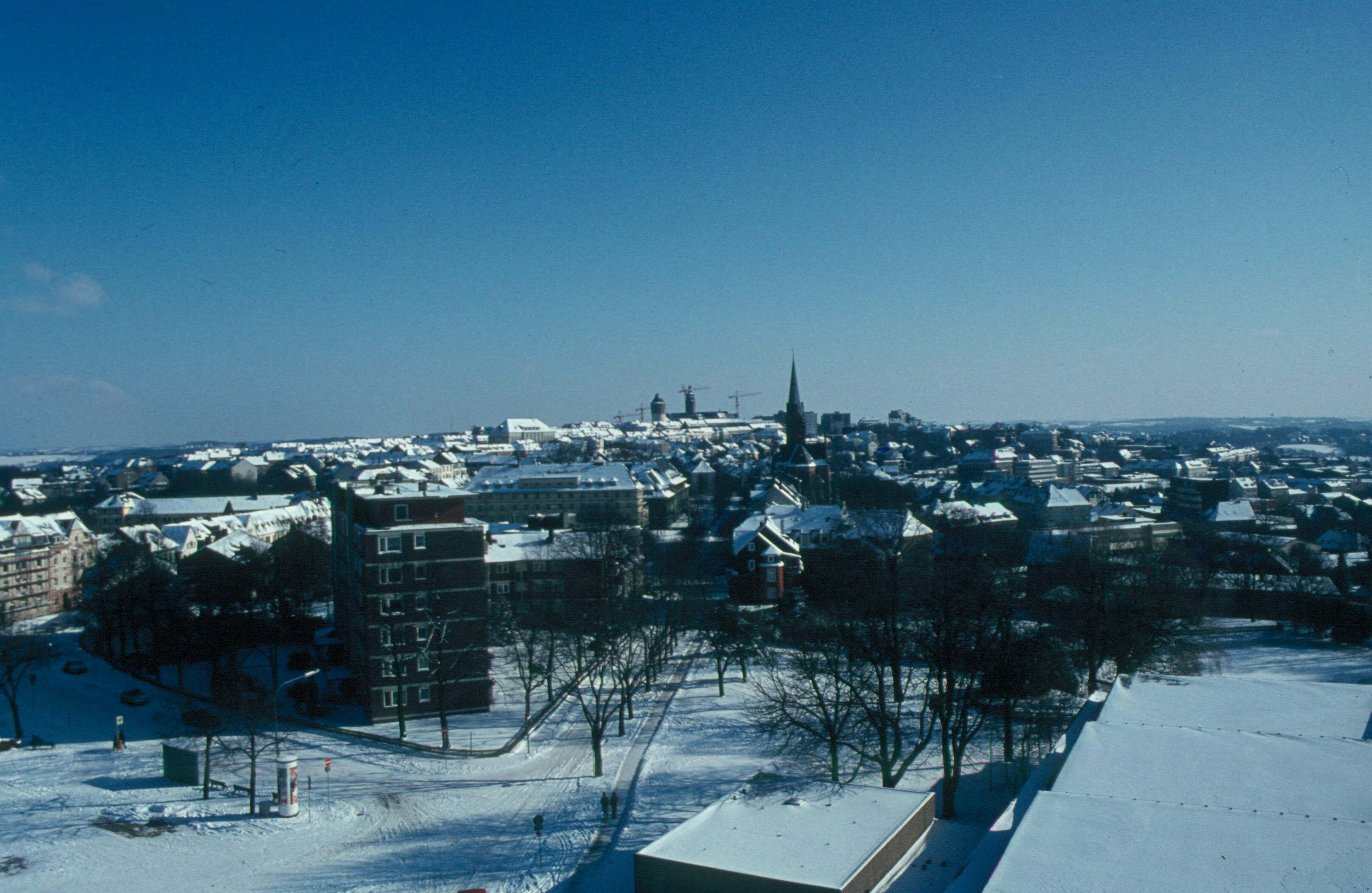 Blick nach Südosten zur Remscheider Innenstadt