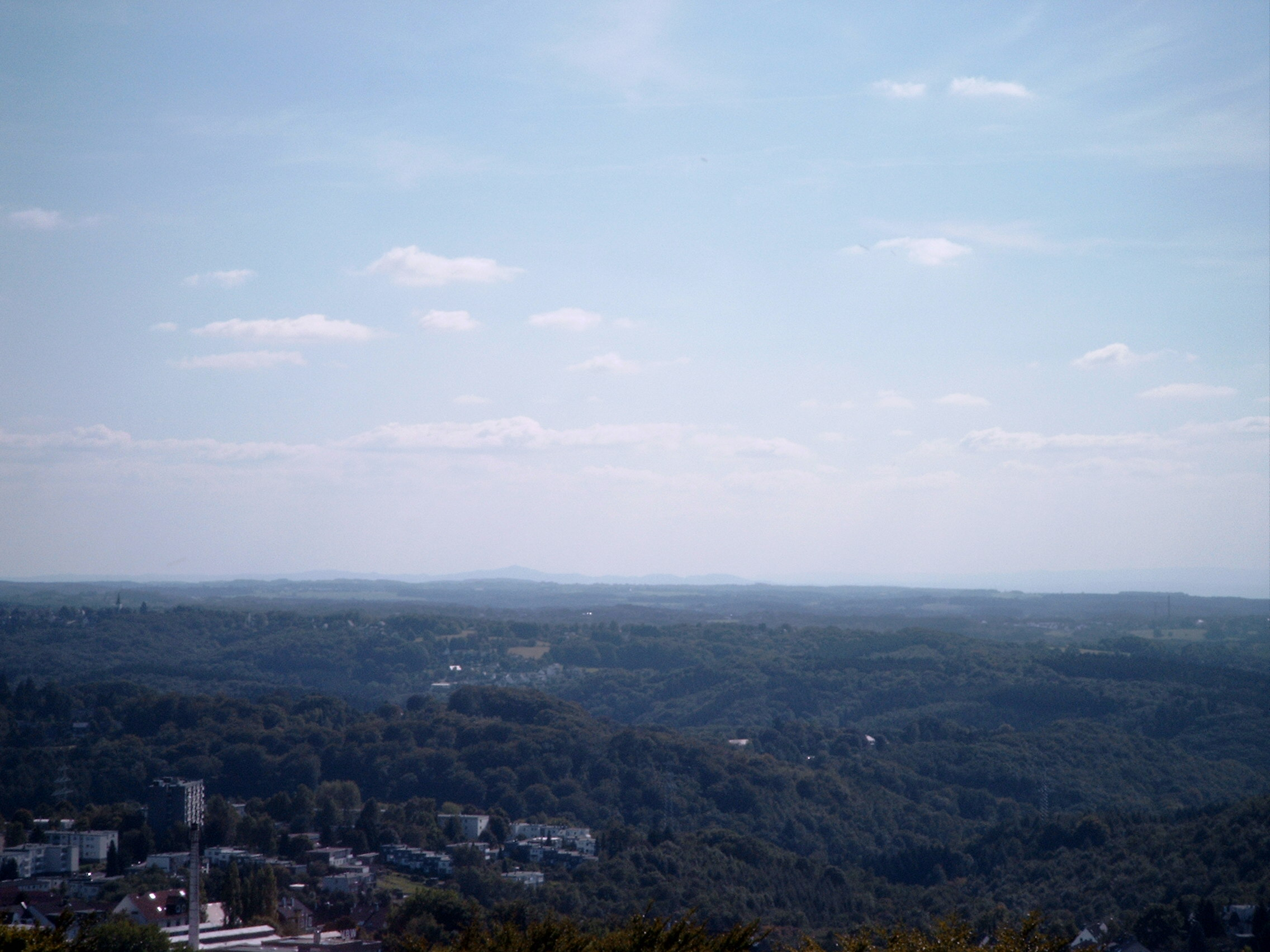 Blick nach Süden Richtung Siebengebirge