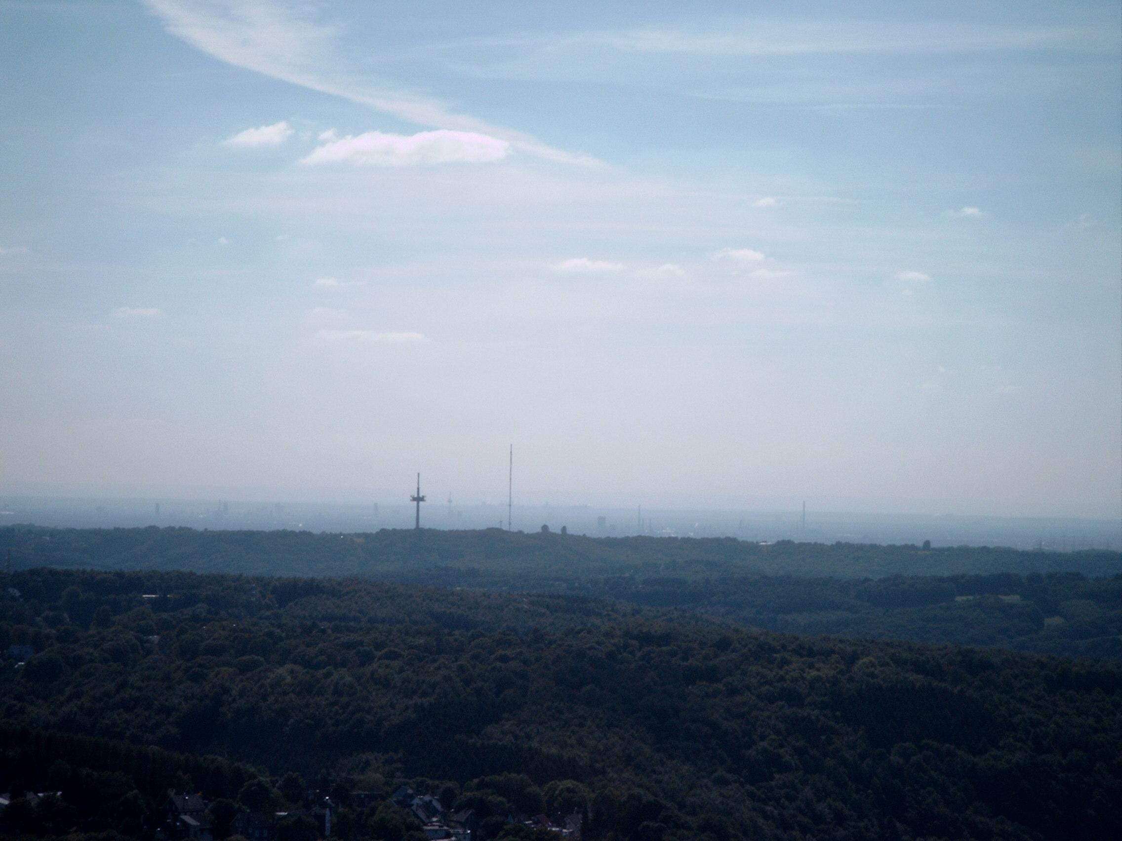 Blick nach Südwesten Richtung Köln